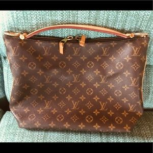 Authentic Louis Vuitton Sully PM Hobo